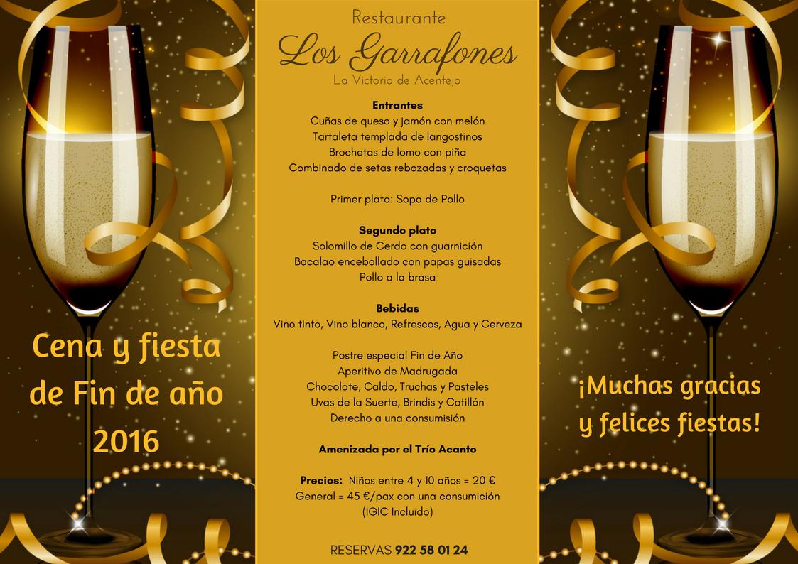 Fiesta de fin de a o restaurante los garrafones - Restaurantes para fin de ano ...